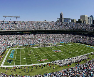 Bank of America Stadium, Charlotte, NC, USA